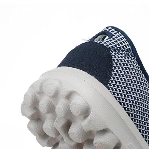 Skechers Womens Blue Rival Go Walk Trainers-uk 3