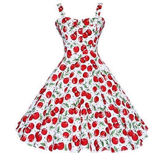 En El Verano Señora Delgado Cómodo Simple Relajado Vestidos Red
