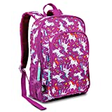 LONECONE Kids School Backpack for Boys and Girls - Sized for Kindergarten, Preschool - Mary the Unicorn