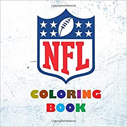 NFL Coloring Book: Super book containing every team logo ...