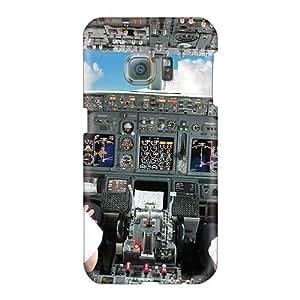 Bumper Hard Phone Cover For Samsung Galaxy S6 (Fvt26146JThh) Custom Lifelike Cockpit Skin