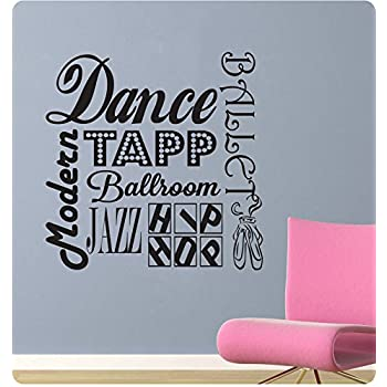 Amazoncom Just Dance Vinyl wall art Inspirational quotes and