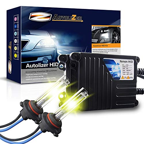 Autolizer 35W Xenon HID Lights - 9005 9055 H12 (3000K Golden Yellow) ()
