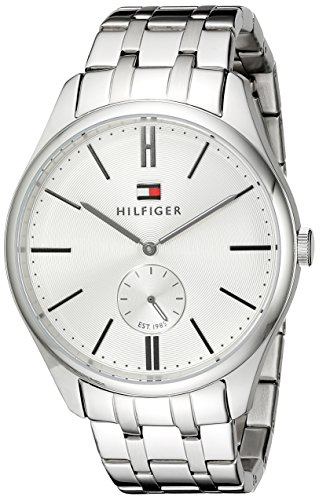 Tommy Hilfiger Men's 1791172 Analog Display Quartz Silver Watch