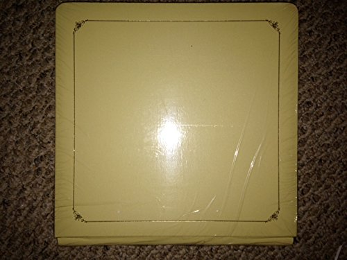 Creative Memories 12x12 12 X 12 Old Size Premiere Coverset Album Yellow with Gold