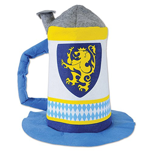 - Beistle 53328 Felt Beer Stein Hat, One Size Fits Most