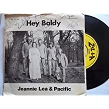 "JEANNIE LEA & PACIFIC Hey Baldy 7"" Vinyl"