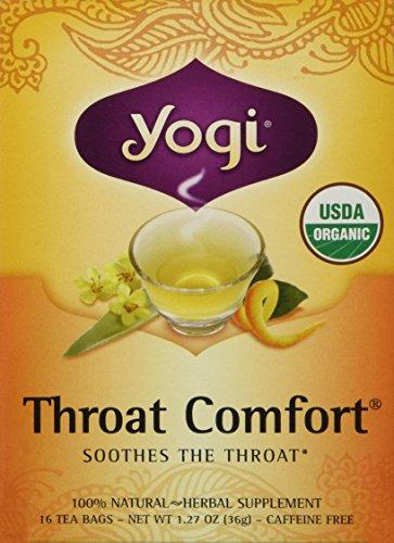 Yogi Tea Throat Comfort Herbal Tea 1.27 Ounces