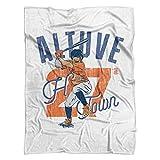 500 LEVEL Jose Altuve Houston Baseball Blanket - Jose Altuve Arch
