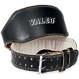 Valeo VA4686LG 4-Inch Padded Leather Lifting Belt, Large (Black)
