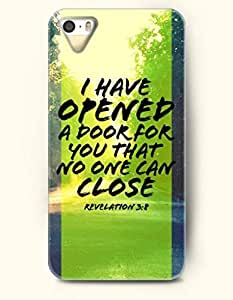 iPhone 4 4S Case OOFIT Phone Hard Case **NEW** Case with Design I Have Opened A Door For You That No One Can Close Revelation 3:8- Bible Verses - Case for Apple iPhone 4/4s