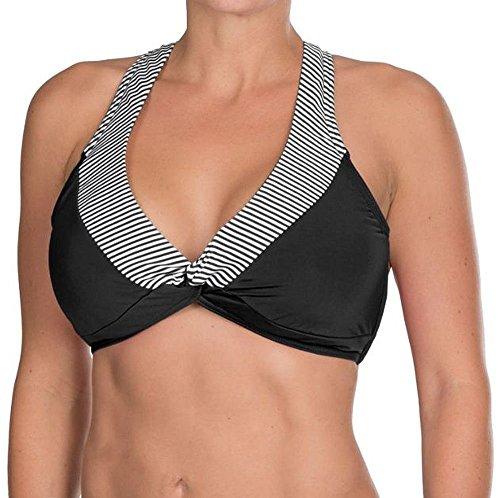 Jag Womens Multi-Wear Bikini Top, Size 38 D/DD