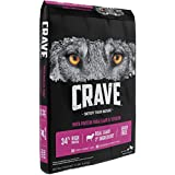 CRAVE Grain Free with Protein from Lamb and Venison Dry Adult Dog Food, 12 Pound Bag
