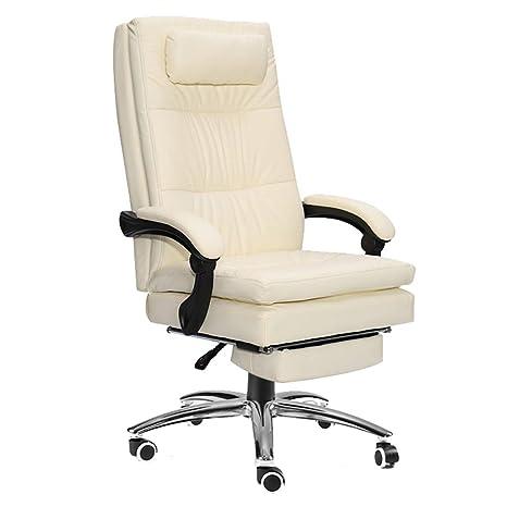 Amazon.com: Fubas - Silla de oficina reclinable con respaldo ...