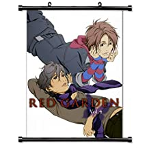 Red Garden Anime Fabric Wall Scroll Poster (16 x 23) Inches[WL]-Red-6