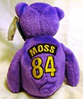 Randy Moss #84 Minnesota Vikings NFL ProBears 1998 Collector's Edition