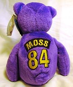 Randy Moss #84 Minnesota Vikings NFL ProBears 1998 Collector's Edition