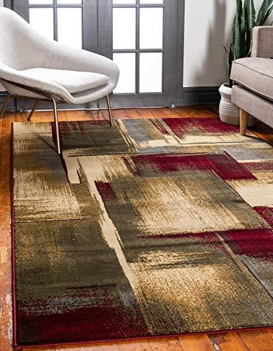Unique Loom Abstract Barista Area Rug