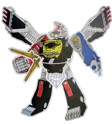 (Power Rangers Megazord Jointed Cutout - Party)