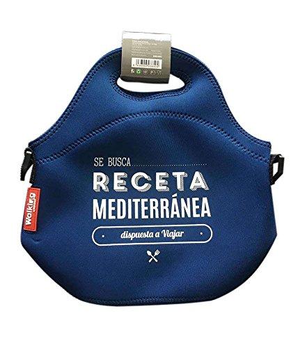 Picnic di neoprene Custodia Borsa Porta pranzo borsa termica Borsa Termica Borsa Termica (lunch box, Gita tasche, Picnic, Borsa, blu)