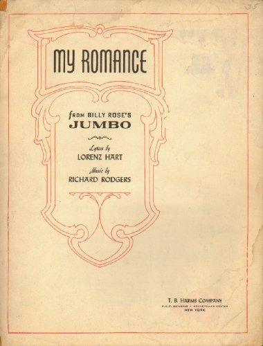 - MY ROMANCE - from Billy Rose's Jumbo