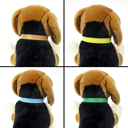 Alfie Pet by Petoga Couture - Zen Adjustable Puppy ID Collars 8-piece Set - Size: Medium by Alfie (Image #2)