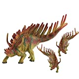 LU2000 Solid Simulation Dinosaur Model Kentrosaurus Plastic Animal Toys Dinosaur Collection Decoration - Medium (Q18)