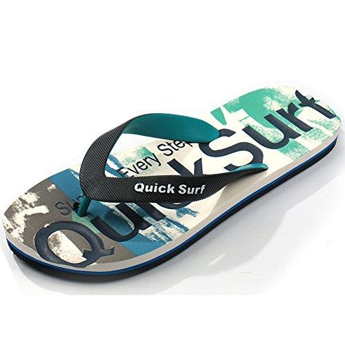 moda e uomini DYY maschio indossano antiscivolo alla marea Flip flop estate morbide estive sandali sandali pantofole estiva verde scarpe 7wg7aqrP