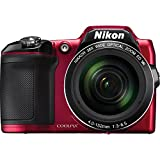 Nikon CoolPix L840 Digital Camera (Red) – International Version (No Warranty) For Sale