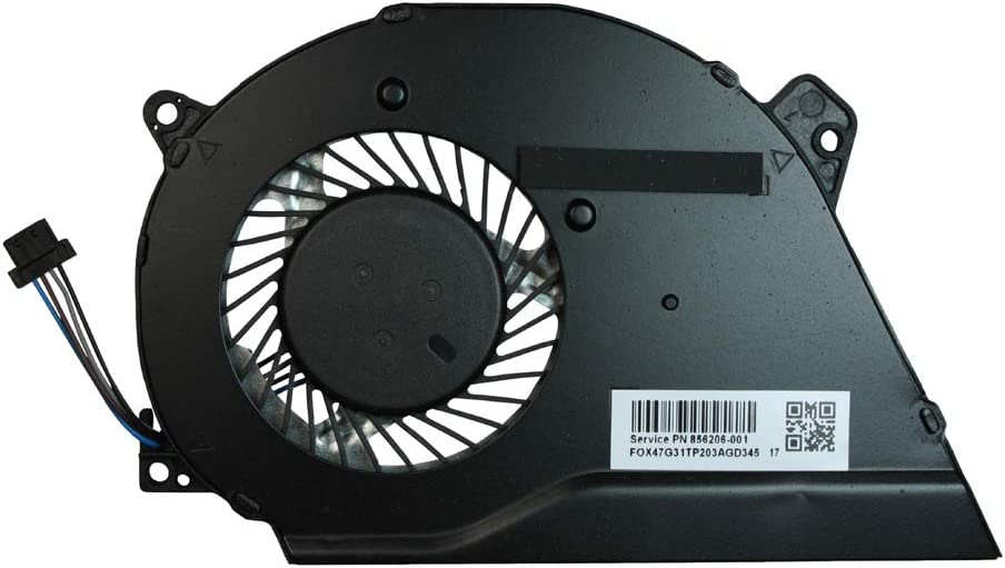 Power4Laptops Replacement Laptop Fan for HP Pavilion 14-al002no HP Pavilion 14-AL002TU HP Pavilion 14-al003ne HP Pavilion 14-al002ns HP Pavilion 14-al002nt