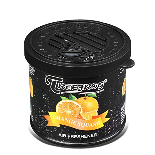 Orange Tree Frog - Tree Frog Orange Squash Scent Auto/Office/Home Long Lasting Natural Gel Air Freshener