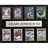 MLB Baltimore Orioles Adam Jones Plaque (8-Card), 12 x 15-Inch