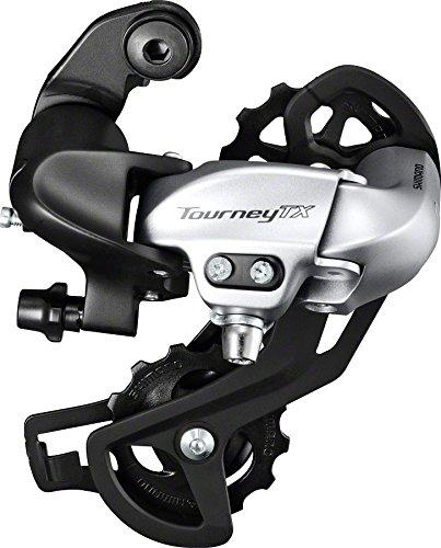 Shimano Tourney 7/8-Speed Mountain Bicycle Rear Derailleur - RD-TX800-L (Black)