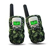 Outdoor Toys for KDS 5-10 Yar OD Joyfun Wkie Taes for Kids Boys Long Distance Teens Hiking Chhday Camo - 1 Pair