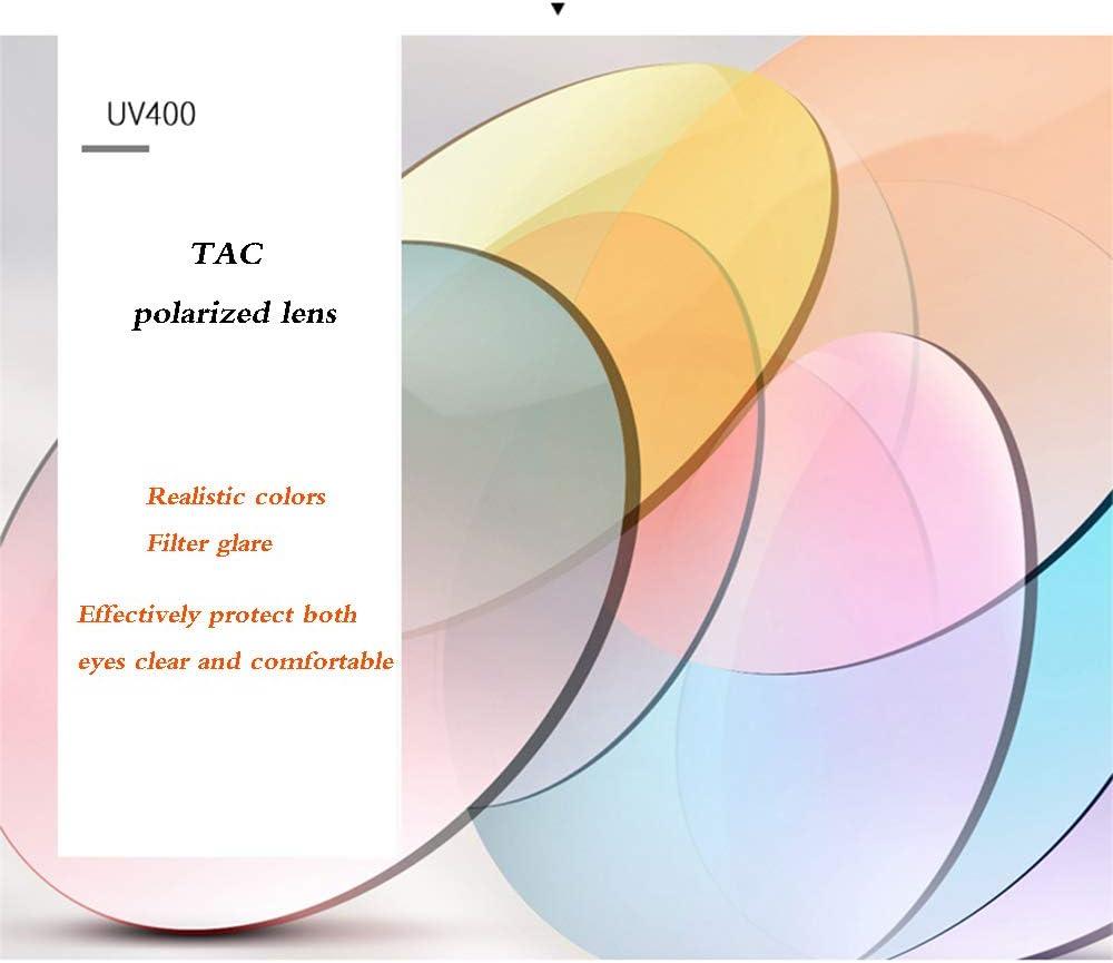 Lunettes de soleil polarisées rétro pour Hommes/Femmes, Conduite décontractée, Voyage en Plein air, Protection UV B