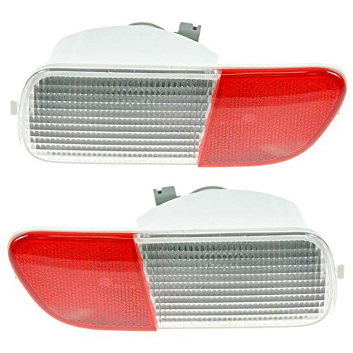 - Rear Reverse Backup Light Lamp Pair for 06-10 PT Cruiser