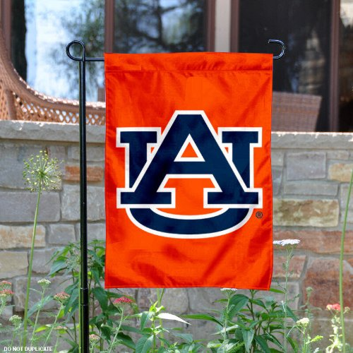 Auburn Tigers Orange Garden Flag and Yard Banner