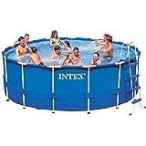Intex 15ft X 48in Metal Frame Pool Set