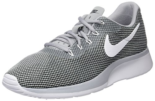 a74378391307e Nike Men's Tanjun Racer Low-Top Sneakers, Grey (Wolf Grey/White-Black), 7.5  UK
