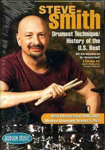 (Steve Smith-Drumset Technique/History of the U.S. Beat 2 DVD Set)