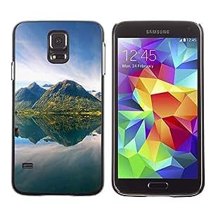 Paccase / SLIM PC / Aliminium Casa Carcasa Funda Case Cover - Nature - Samsung Galaxy S5 SM-G900