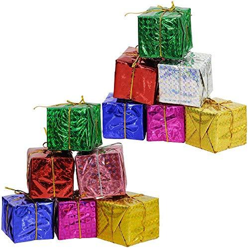 Supla 24 Pcs Assorted Color Foil Boxes 2