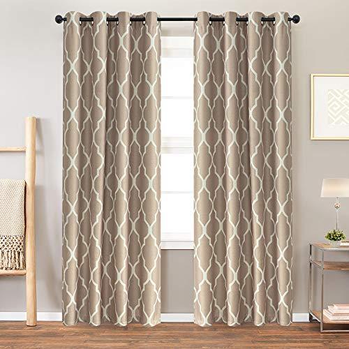 - Dark Taupe Curtains 2 Panel 84