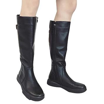 quite nice 60cbb 6cfd5 Red Ta Women Boots Autumn Winter Flat Bottom Boots Shoes ...