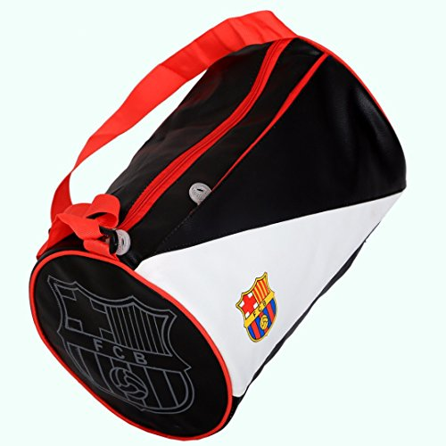Kuber Industriestm pelle morbida 12litri borsa da palestra (nero e rosso)