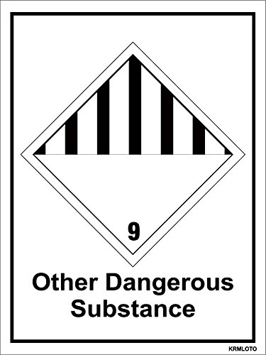 Self Adhesive Labels - Other Dangerous Substance (Set of 50 pcs)