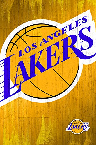 Logo Poster Sports (Trends International Los Angeles Lakers Logo Wall Poster 22.375