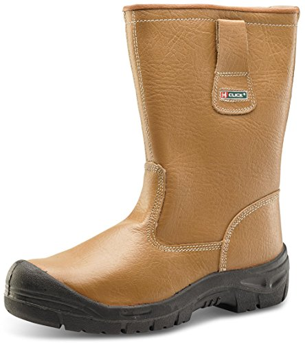 Click Rigger Boot Fur Lined SUP Steel Toe Cap - Size 11
