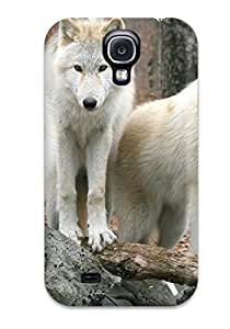 New Delores Sands Super Strong White Wolves Tpu Case Cover For Galaxy S4