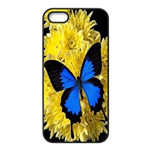 [MEIYING DIY CASE] For Apple Iphone 5 5S Cases -Beautiful Butterfly Pattern-IKAI0447779